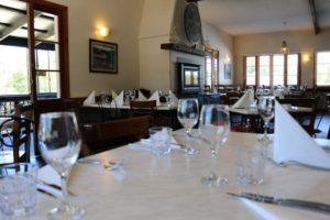 Hepburn Springs restaurants Rubens dining room